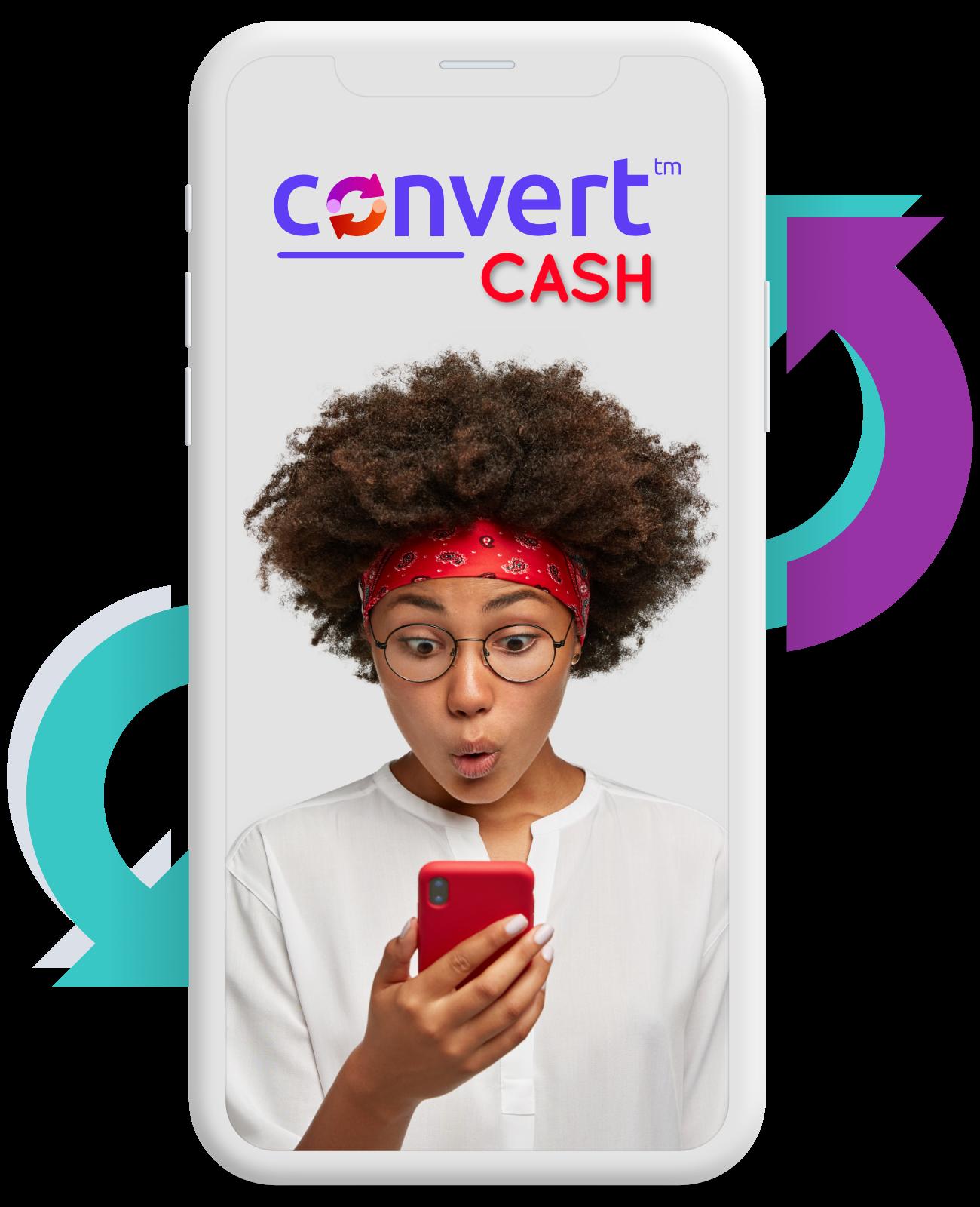Convert Cash - mobile image