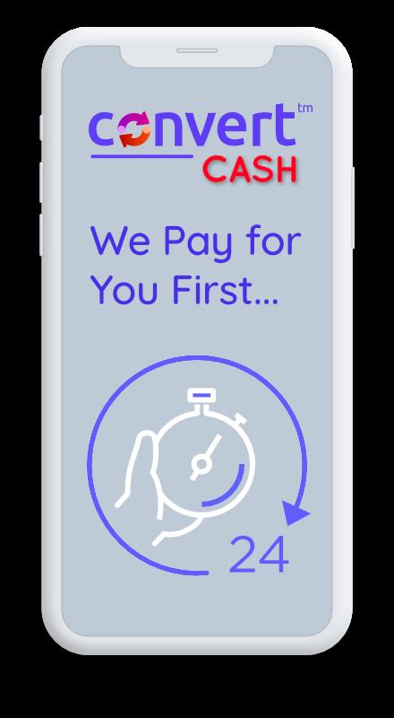 convertCASH Phone Image - 3 Simple Steps 02